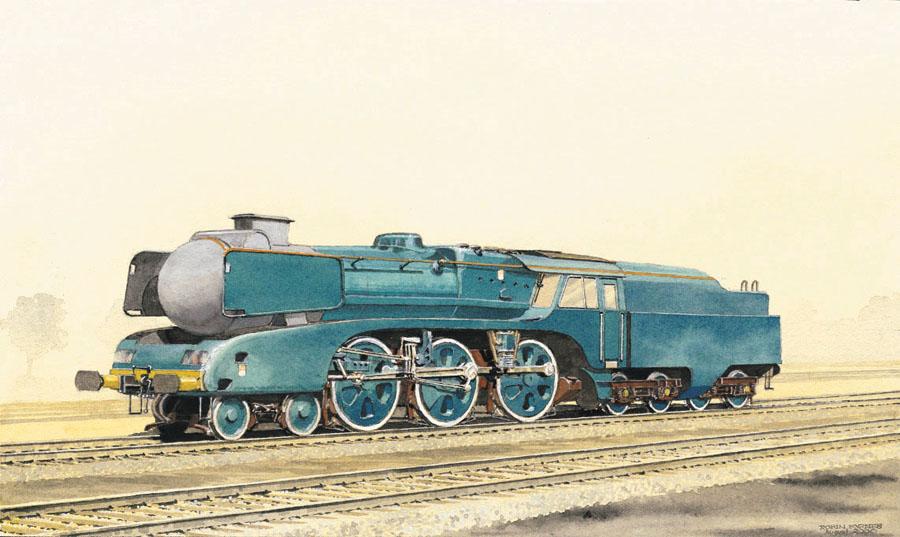 5AT先進技術蒸気機関車 - 5AT Ad...