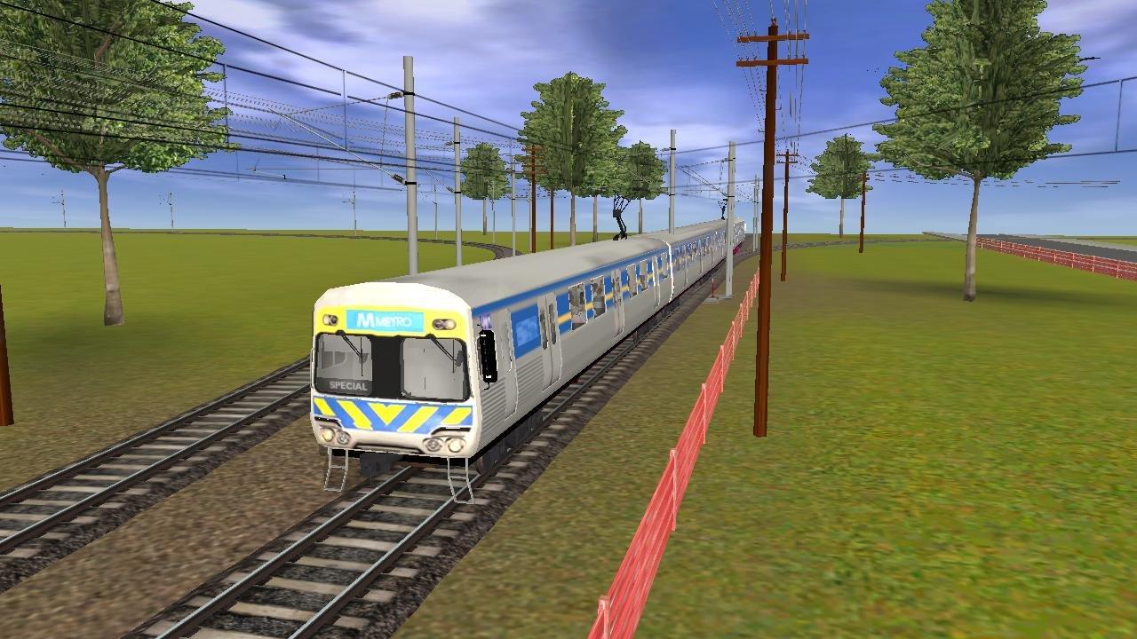 Paulz Trainz<title>Australia Melbourne Comeng Electric Train
