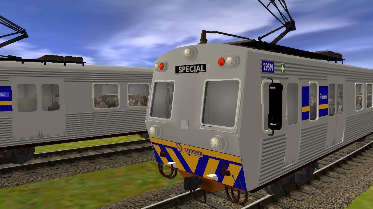 Paulz Trainz<title>Australia Melbourne Hitachi Electric Train