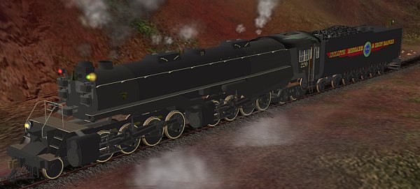 Some info about a really big locomotive    [Archive