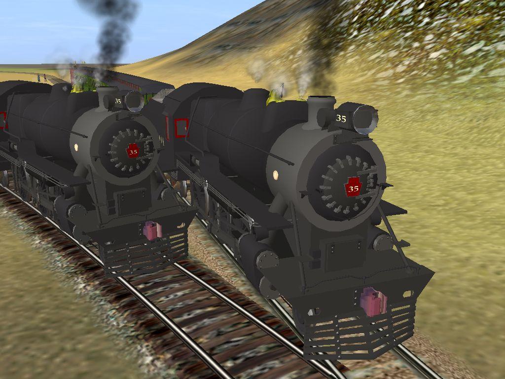 Paulz Trainz<title>PRR G5 4-6-0